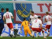 """يورو 2020.. لينيتي يسجل هدف تعادل بولندا ضد سلوفاكيا بالدقيقة 46 """"فيديو"""""""