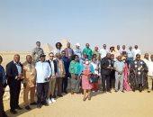 رؤساء المحاكم والمجالس الدستورية الأفريقية يزورون الأهرامات