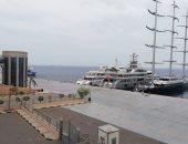 إغلاق ميناء الغردقة البحرى لسوء الأحوال الجوية