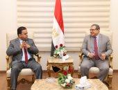 وزير القوى العاملة يستقبل نظيره الليبى لبحث آليات جذب العمالة المصرية للعمل فى الإعمار