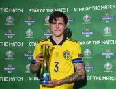 إسبانيا ضد السويد.. ليندلوف يتوج بجائزة أفضل لاعب فى المباراة