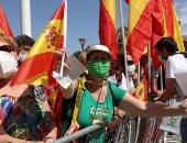 تجمع 25 ألف شخص فى مظاهرات بقيادة اليمين المتطرف الإسبانى ضد الحكومة