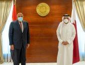 وزيرا خارجية مصر وقطر يؤكدان أهمية التضامن العربي مع مصر والسودان بقضية سد النهضة