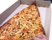 مشوار البيتزا العملاقة من ابتكارات الطهاة لموسوعة جينيس العالمية..ألبوم صور
