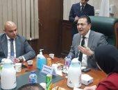 وفد تنسيقية شباب الأحزاب يلتقى رئيس جهاز حماية المستهلك