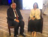 سامح شكرى يستقبل وزيرة الخارجية الليبية ومؤتمر صحفى مشترك بعد قليل