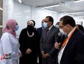 رئيس الوزراء يفتتح أحد مصانع القطاع الخاص بالمنطقة الحرة بمدينة نصر.. صور