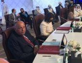 شكرى يؤكد بالدوحة على موقف مصر الداعم للحلول السياسية للقضايا العربية
