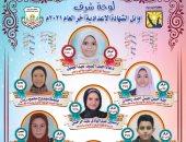 23 طالبا وطالبة فى قائمة أوائل الشهادة الإعدادية بجنوب سيناء.. تعرف عليهم