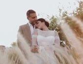 """محمد فراج فى أول تعليق بعد زفافه: """"الحمد لله حب حياتى بقت شريكة حياتى"""""""