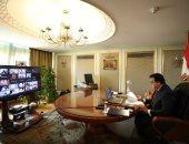 وزير التعليم العالى يلقى كلمة الرئيس السيسى بقمة التكنولوجيا فى الإمارات