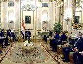 رئيس الوزراء للمبعوث الرئاسى الأمريكى: ملفات البيئة لم تعد ترفاً ومصر أخذتها بالجدية.. صور