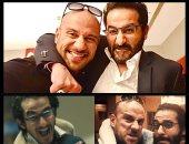 """أحمد حلمى يداعب مكى: قلبه كبير مهما ضربته بيعطف عليا """"صور"""""""