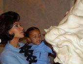كيم كاردشيان تحتفل بعيد ميلاد ابنتها الكبرى بجلسة تصوير كلاسيكية