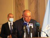 شكري: الأوروبيون يقدرون موقفنا ونتابع أطروحات الاتحاد الإفريقي حول سد النهضة