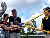 """تحدى """"قوة الحب"""".. ثنائى أوكرانى يقيدان بعضهما بالسلاسل 123 يوما.. فيديو وصور"""