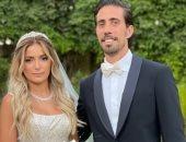 فولة واتقسمت نصين.. الصور الأولى من زفاف كاميليا الدفراوى ابنة علا غانم