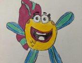 قارئ من دبى يشارك صحافة المواطن لوحات فنية لابنته 9 سنوات