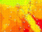 الأقمار الصناعية تشير لطقس مائل للحرارة بالقاهرة ورياح بخليج السويس.. صور
