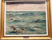 شاهد لوحة الأمواج أقدم لوحات متحف الفن الحديث.. من رسمها؟