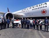 مطار القاهرة يستقبل أول رحلة مباشرة لشركة إيركندا قادمة من مونتريال