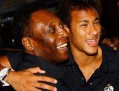 بيليه يدعم نيمار للفوز بكوبا أمريكا: أشجعه وأشعر بالسعادة عندما يلعب كرة القدم