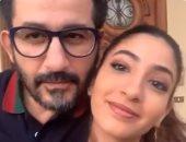 أحمد حلمى الداعم دائمًا لابنته لى لى فى مشروعاتها وفيديوهات الرقص
