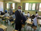 السفير السودانى يتفقد امتحانات الشهادة السودانية بالجيزة.. صور