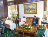 رئيس الأعلى للإعلام ووزير الإعلام الكويتى يتفقان على إطلاق مبادرة لدعم المبدعين