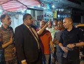 محمد إسماعيل نائب التنسيقية يواصل جولاته بمنطقة حجر النواتية بالإسكندرية