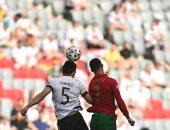 """يورو 2020.. رونالدو يفتتح أهداف البرتغال ضد ألمانيا بالدقيقة 15 """"فيديو"""""""
