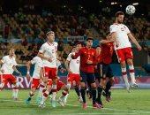 منتخب إسبانيا يتعادل مع بولندا ويصعب موقفه فى يورو 2020.. فيديو