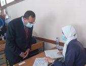 محافظ شمال سيناء يتابع سير لجان امتحانات الدبلومات الفنية والثانوية الأزهرية.. فيديو و صور