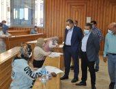 رئيس جامعة كفر الشيخ: جولاتنا للتأكد من تطبيق الإجراءات الاحترازية.. صور