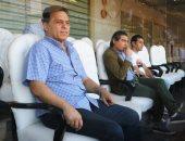 وزير الرياضة والبدرى وبركات يحضرون مباراة منتخب الشباب أمام النيجر