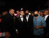 """شيكابالا ونجوم الزمالك يشعلون """"فرح"""" محمد عبد الغنى فى الشروق.. صور"""