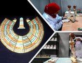 """إنجازات 7 سنوات.. """"المستنسخات الأثرية"""" المصنع الأول من نوعه بالشرق الأوسط"""