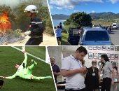 """صور العالم هذا الصباح.. زلزال بقوة 6.3 درجة يضرب جزر كردماك في نيوزيلندا.. 122 حريقا بتونس يقضى على مساحة 127 هكتارا.. """"باشينيان"""" يعلن فوزه بالانتخابات البرلمانية الأرمينية.. إيطاليا تتأهل لثمن نهائي يورو 2021"""