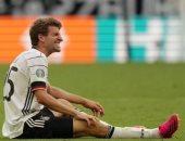 يورو 2020.. مولر يغيب عن ألمانيا أمام المجر بسبب الإصابة فى الركبة