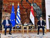 الرئيس السيسي: العلاقات بين مصر واليونان شهدت تناميا ملحوظا بمختلف المجالات.. صور