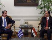 رئيس الوزراء يلتقى نظيره اليونانى والوفد المرافق له.. صور