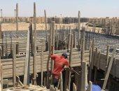 """جهاز """"حدائق أكتوبر"""" يوقف أعمال بناء مخالف بقطعتى أرض بمنطقة جاردينيا 1"""