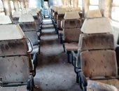 حادث تصادم جرار بقطار الإسكندرية وإصابة 40 راكبا