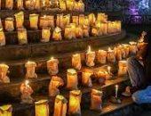 إضاءة 500 ألف شمعة بالبرازيل تكريما لذكرى ضحايا كورونا.. فيديو وصور