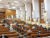طلاب 7 كليات بجامعة حلوان يواصلون اليوم امتحانات نهاية العام الجامعى