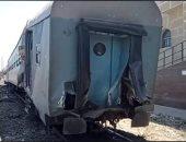 السكة الحديد: إيقاف قائد قطار الإسكندرية ومساعده عن العمل بحادث التصادم مع جرار