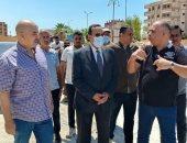 محافظ شمال سيناء يتفقد مشروعات مدينة الشيخ زويد  .. صور