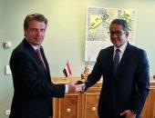 تفاصيل لقاء العنانى مع وزير الدولة بوزارة الاقتصاد ومفوض الحكومة الفيدرالية للسياحة بألمانيا