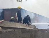 السيطرة على حريق محدود بمنطقة نخيل فى قرية أبو شهبة ببنى سويف