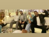 """تامر حسنى يحتفل بالعرض الخاص لفيلمه الجديد """" مش أنا"""".. ويقدم الشكر لمن حضر"""